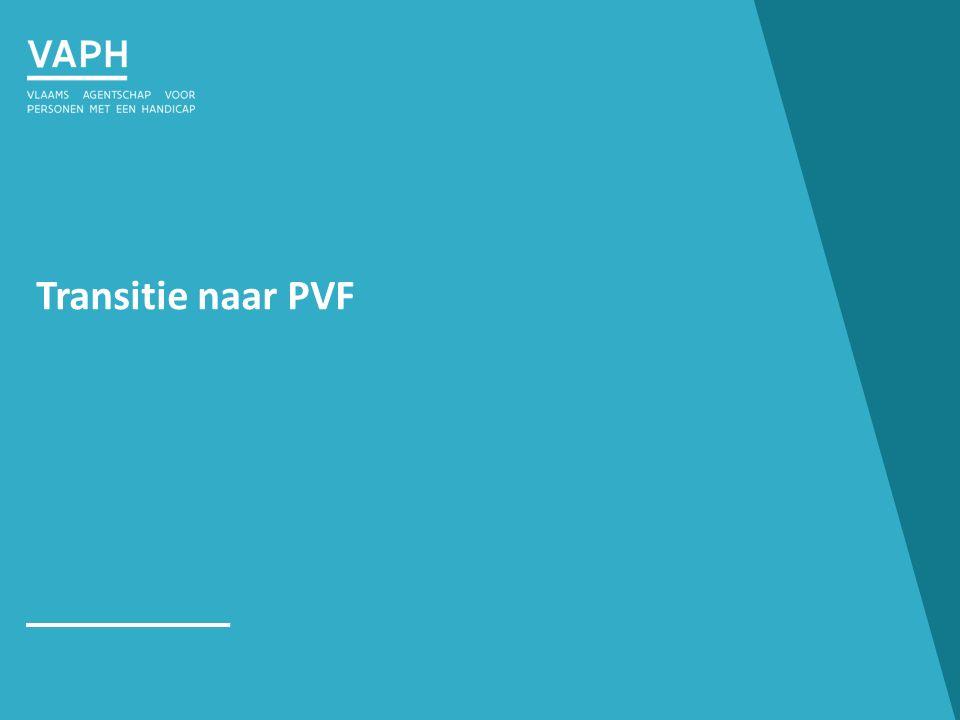 Transitie naar PVF