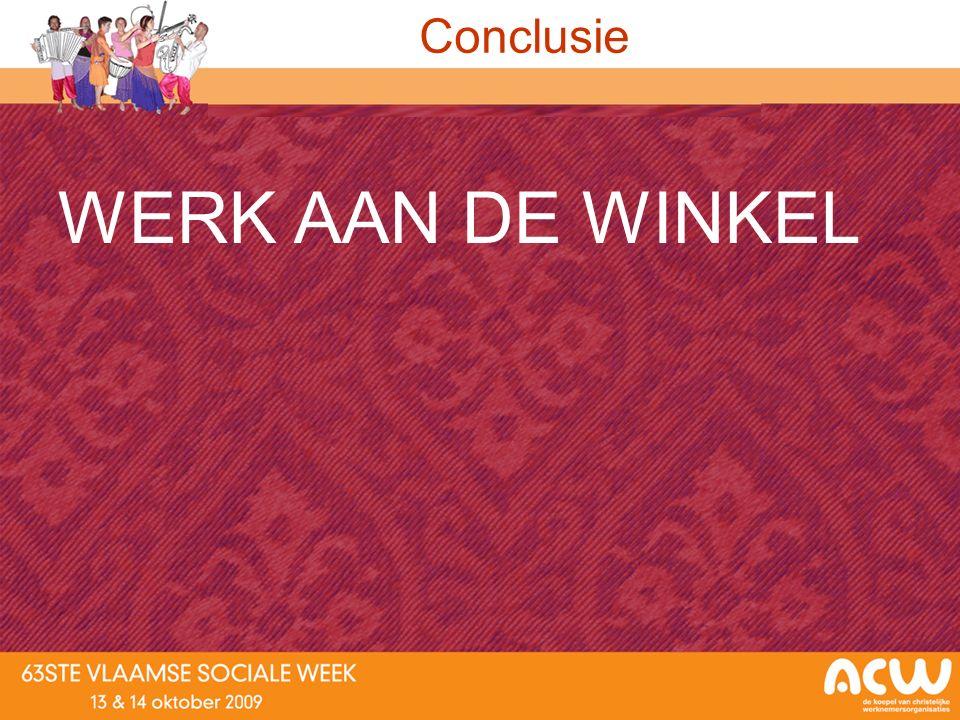 Conclusie WERK AAN DE WINKEL