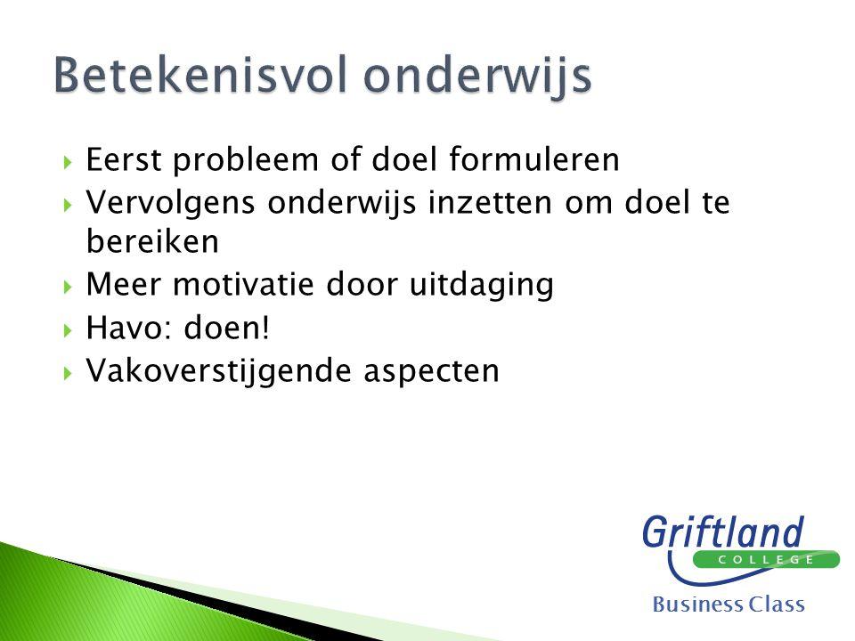  Beroepenmarkt organiseren  Contact met vervolgopleiding  Keuzebegeleiding  Direct contact met beroepsbeoefenaren en bedrijven  Minder kans op langstudeerboete.