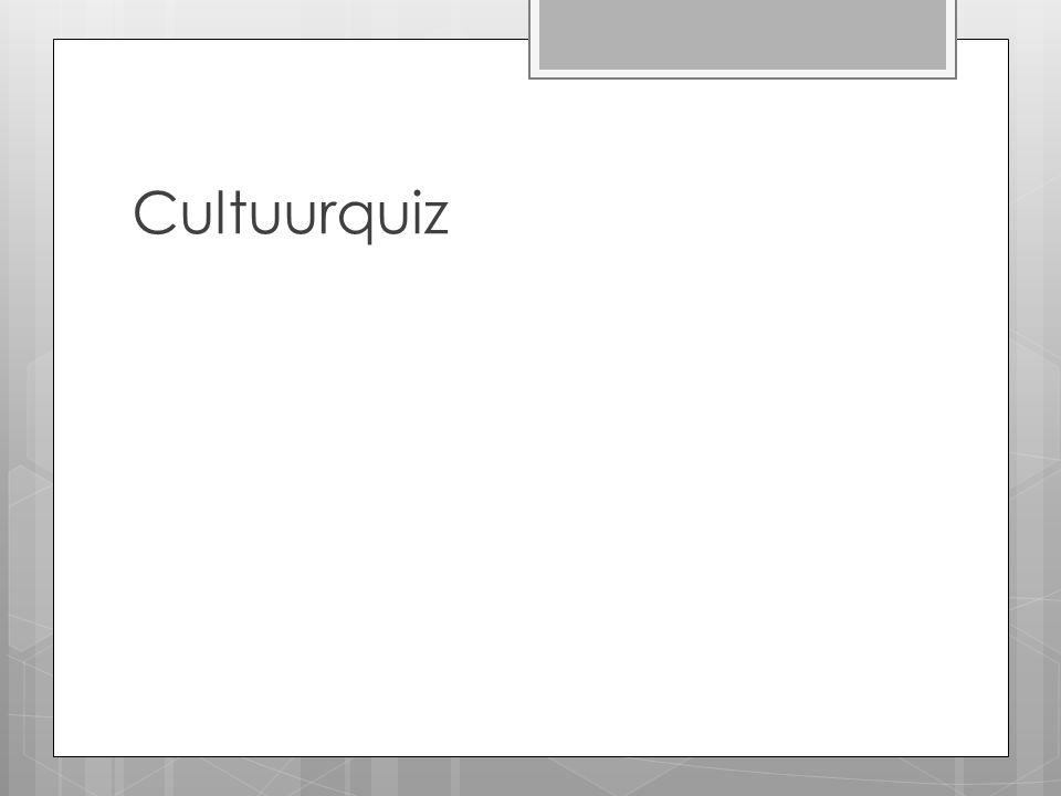 Cultuurquiz