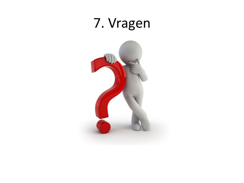 7. Vragen