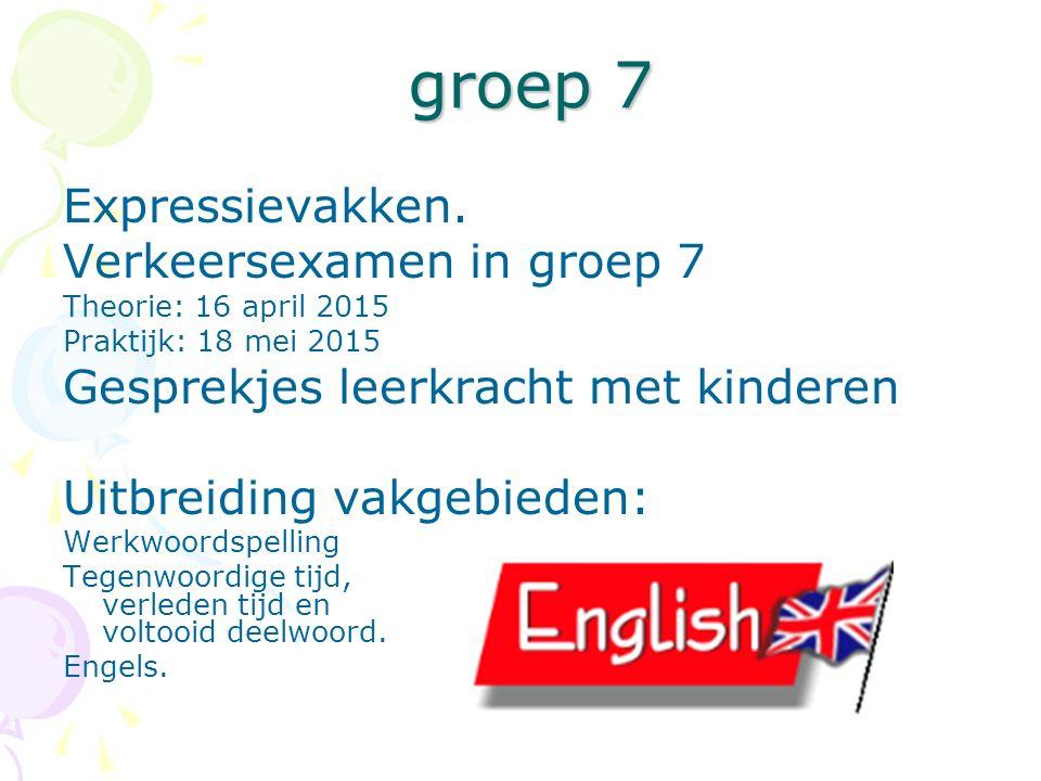 groep 7 groep 7 Expressievakken.