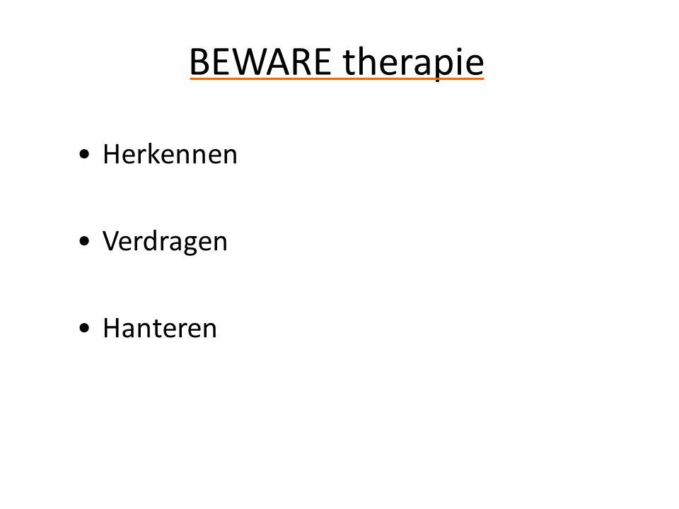 Herkennen Verdragen Hanteren BEWARE therapie