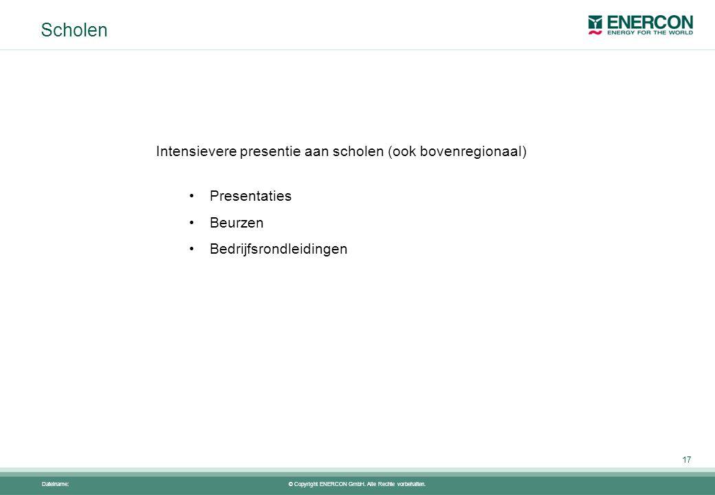 © Copyright ENERCON GmbH. Alle Rechte vorbehalten.
