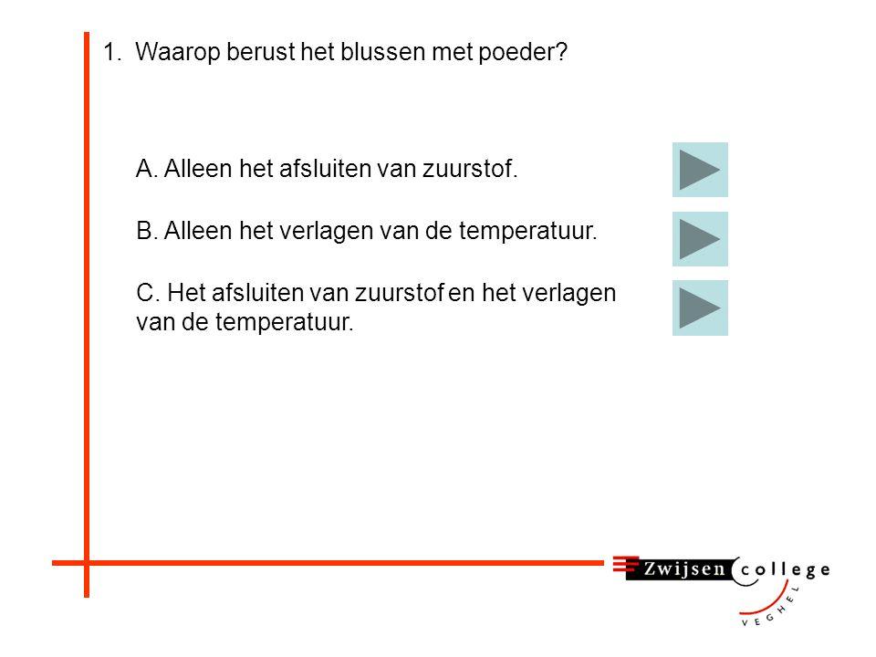 Water zorgt voor afkoeling en verdamping Branden in Schiedam.