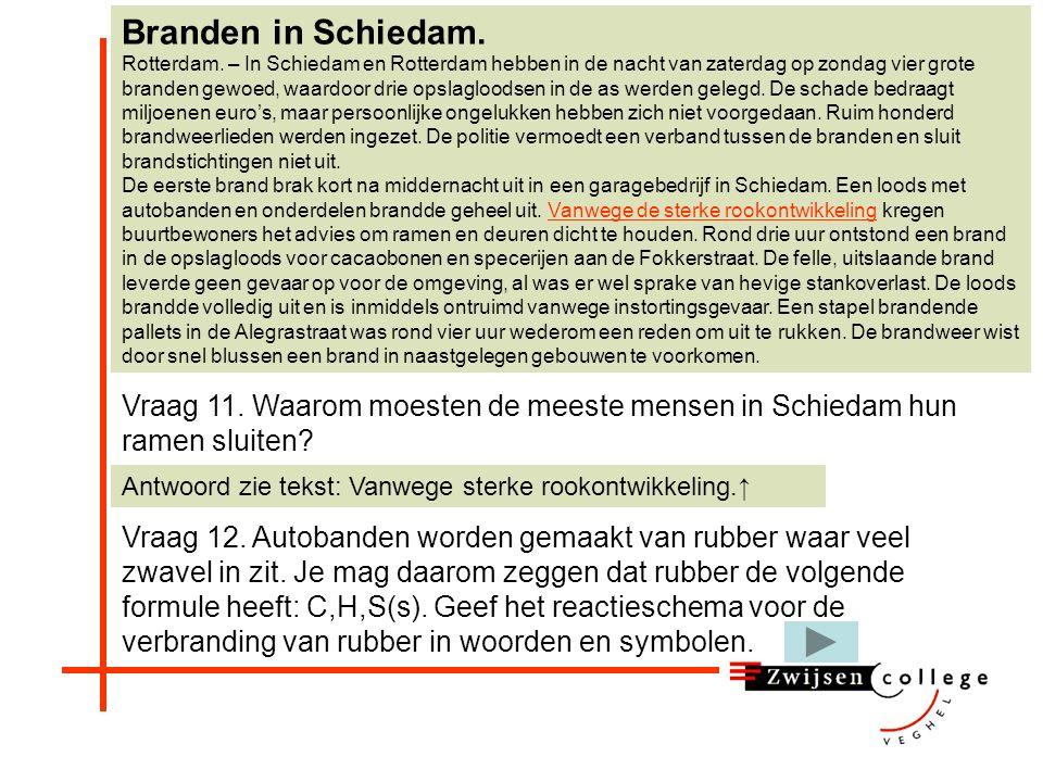Branden in Schiedam. Rotterdam. – In Schiedam en Rotterdam hebben in de nacht van zaterdag op zondag vier grote branden gewoed, waardoor drie opslaglo