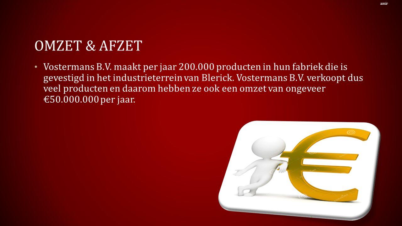 OMZET & AFZET Vostermans B.V.