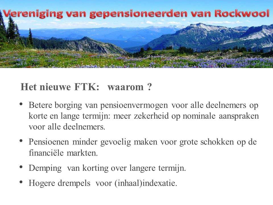 Het nieuwe FTK: waarom .