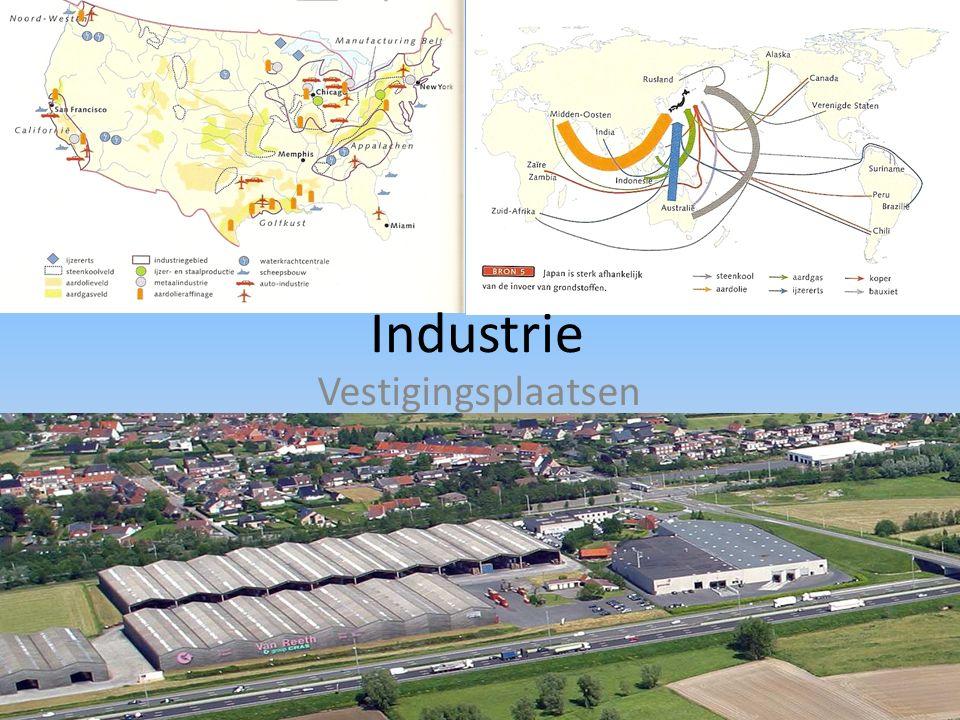 Industrie Vestigingsplaatsen