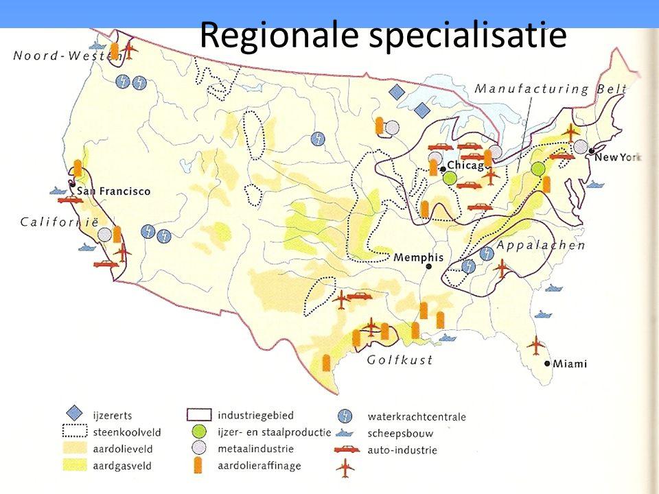 Regionale specialisatie