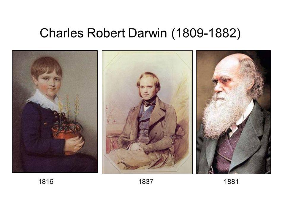 181618371881 Charles Robert Darwin (1809-1882)