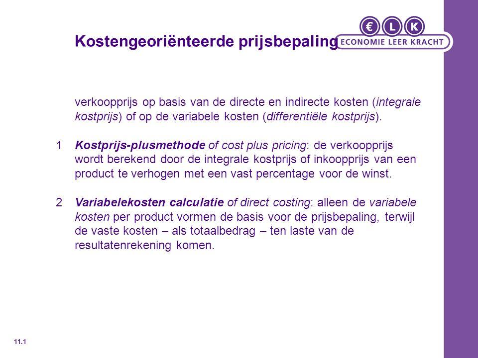 Prijselasticiteit De prijselasticiteit van de vraag geeft de verandering in de vraag naar een product als gevolg van een prijswijziging aan.