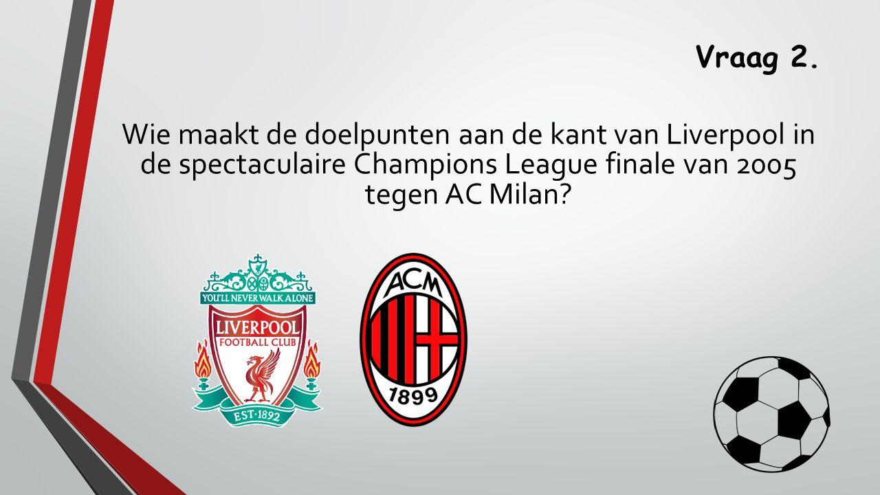 Vraag 13. AGOVV en FC Twente