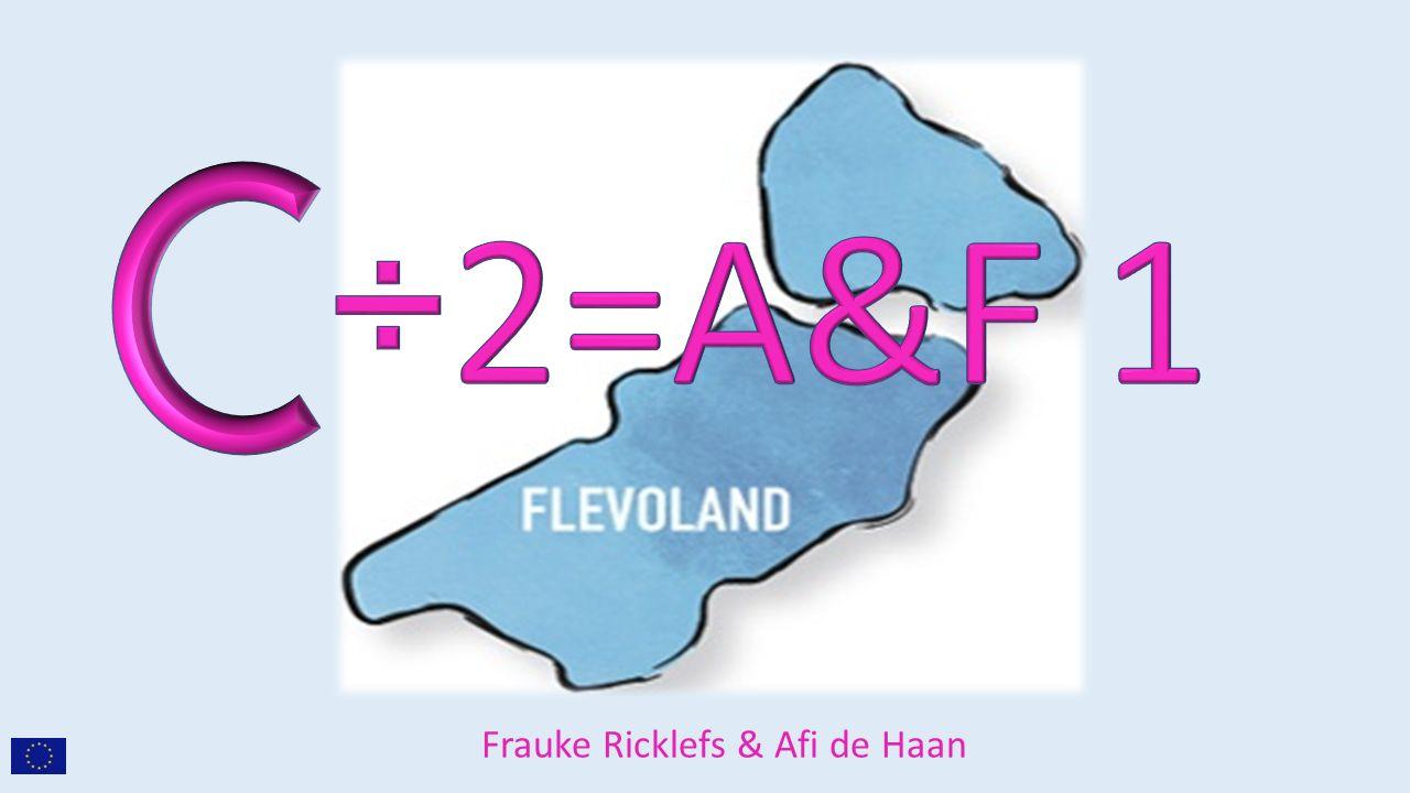Frauke Ricklefs & Afi de Haan