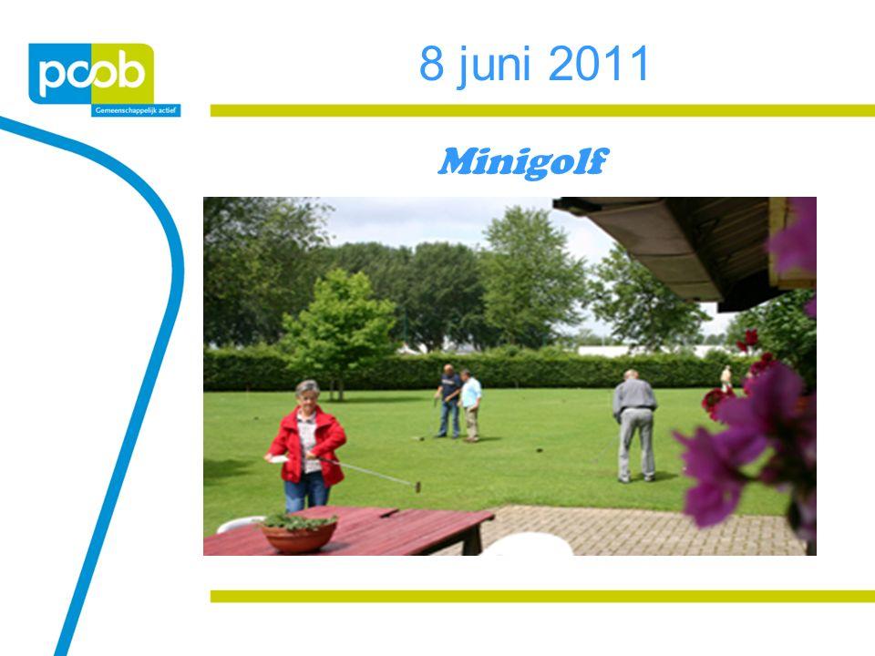 8 juni 2011 Minigolf