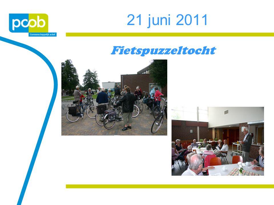 21 juni 2011 Fietspuzzeltocht