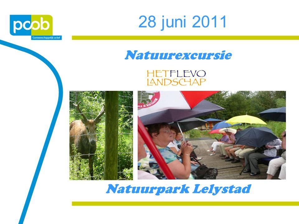28 juni 2011 Natuurexcursie Natuurpark Lelystad