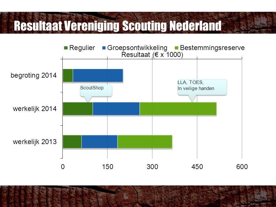 4 Resultaat Vereniging Scouting Nederland ScoutShop LLA, TOES, In veilige handen LLA, TOES, In veilige handen