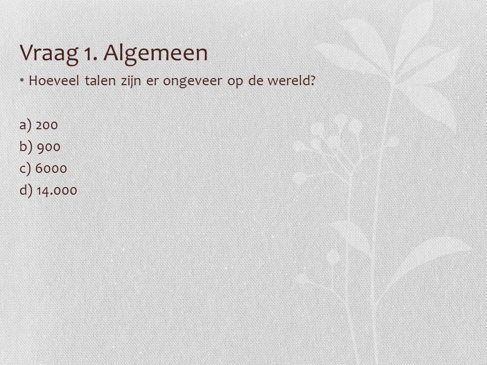 Vraag 6.Nederlands Welke van de onderstaande zinnen werd in 1980 ook al gebruikt.
