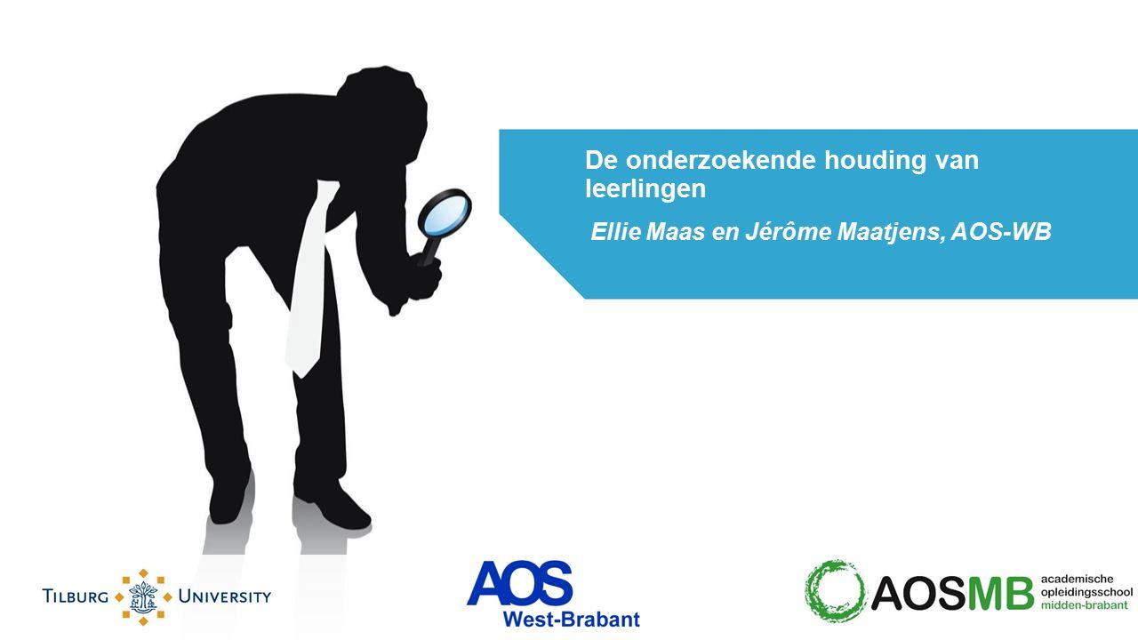 Ellie Maas en Jérôme Maatjens, AOS-WB De onderzoekende houding van leerlingen