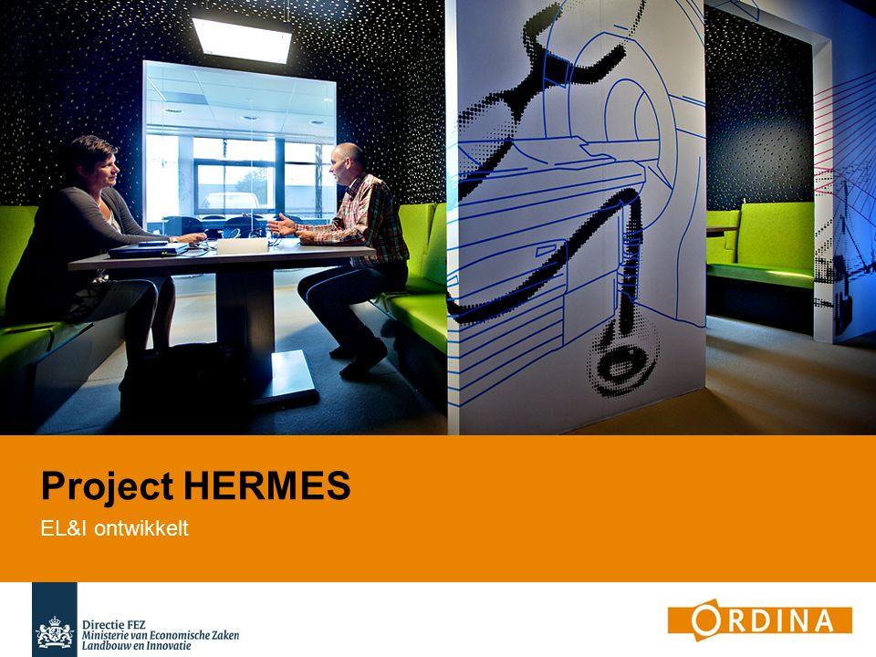 Project HERMES EL&I ontwikkelt