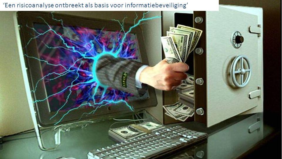 © 2013 Deloitte 'Een risicoanalyse ontbreekt als basis voor informatiebeveiliging'