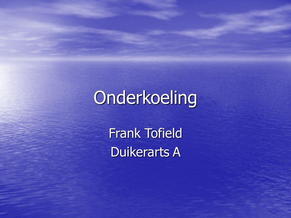 Onderkoeling Frank Tofield Duikerarts A