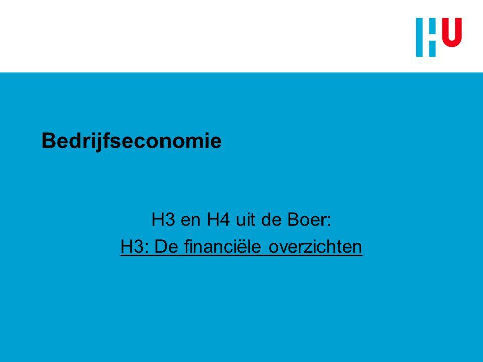 Bedrijfseconomie H4 uit de Boer: Ondernemingsplan