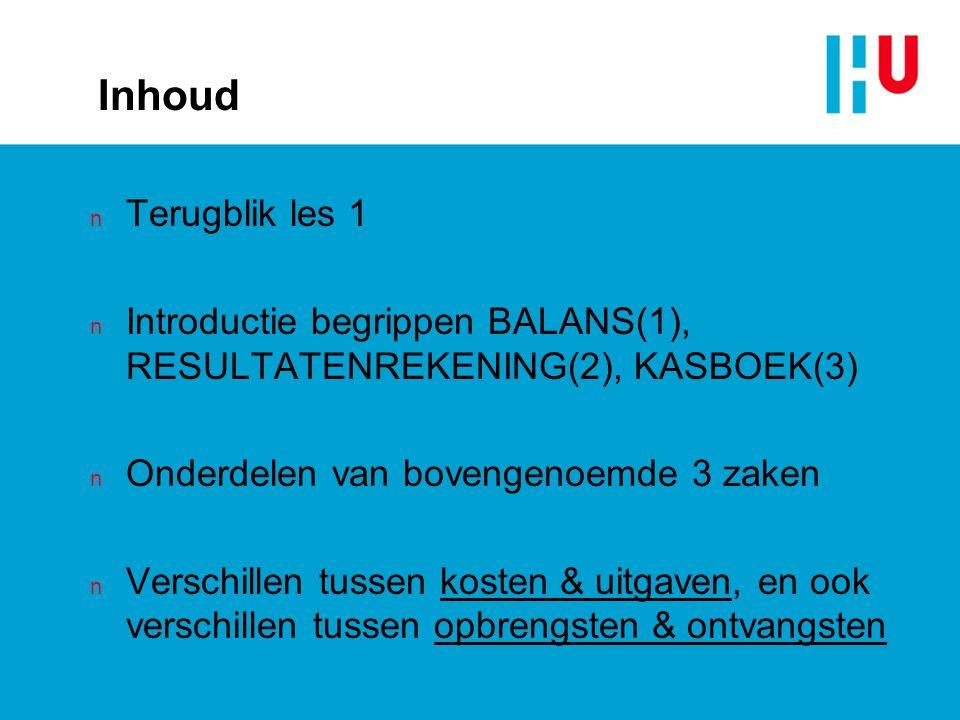Vraag 3 Kapperszaak Eric Zwieten s haarmode betaalt aan het begin van ieder kwartaal de voorschotnota voor elektriciteit aan de Nuon.