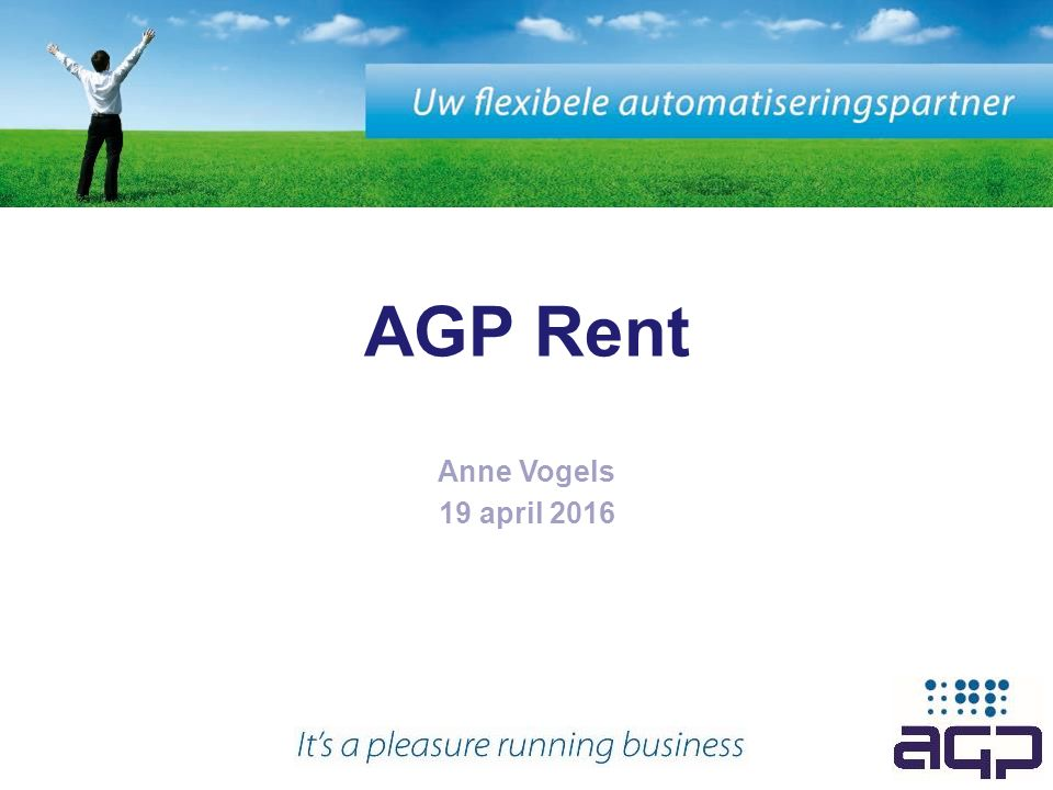 AGP Rent Anne Vogels 19 april 2016