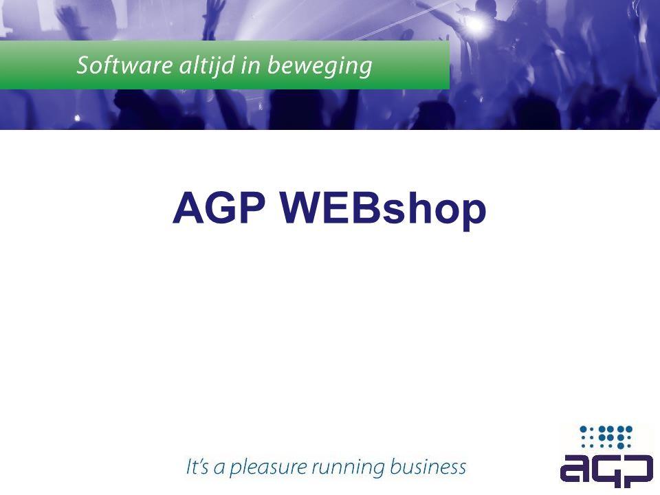 AGP WEBshop