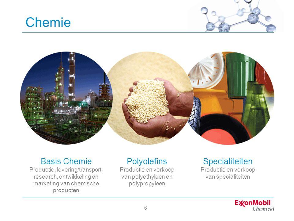 7 ExxonMobil in de Benelux Benelux-hoofdkantoor Breda Upstream Downstream Chemical Regionaal hoofdkantoor EAME BNL NL B L # EM locaties 17 7 7 3 # EM werkn.4.9001.5503.200150 # ROC werkn.1.230 670 380 180