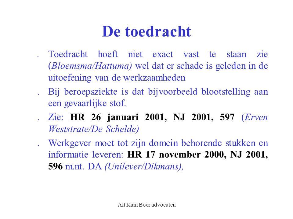 Alt Kam Boer advocaten De toedracht.