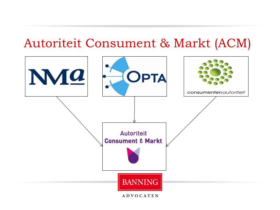 Autoriteit Consument & Markt (ACM)