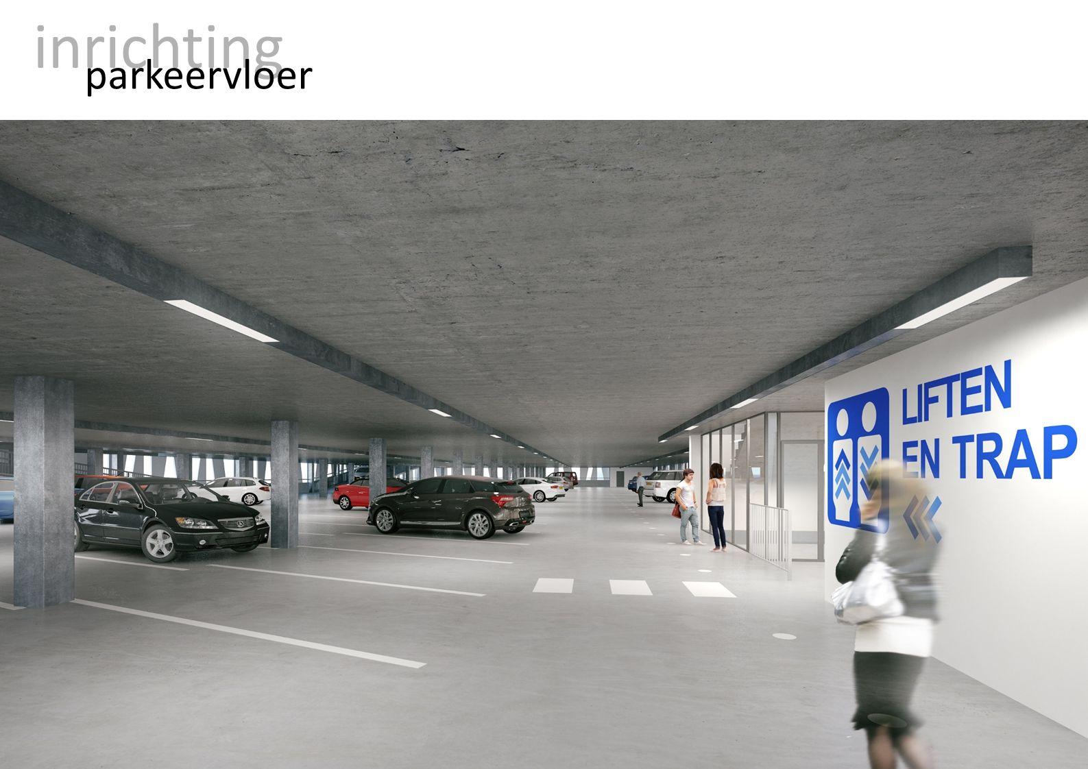 inrichting parkeervloer