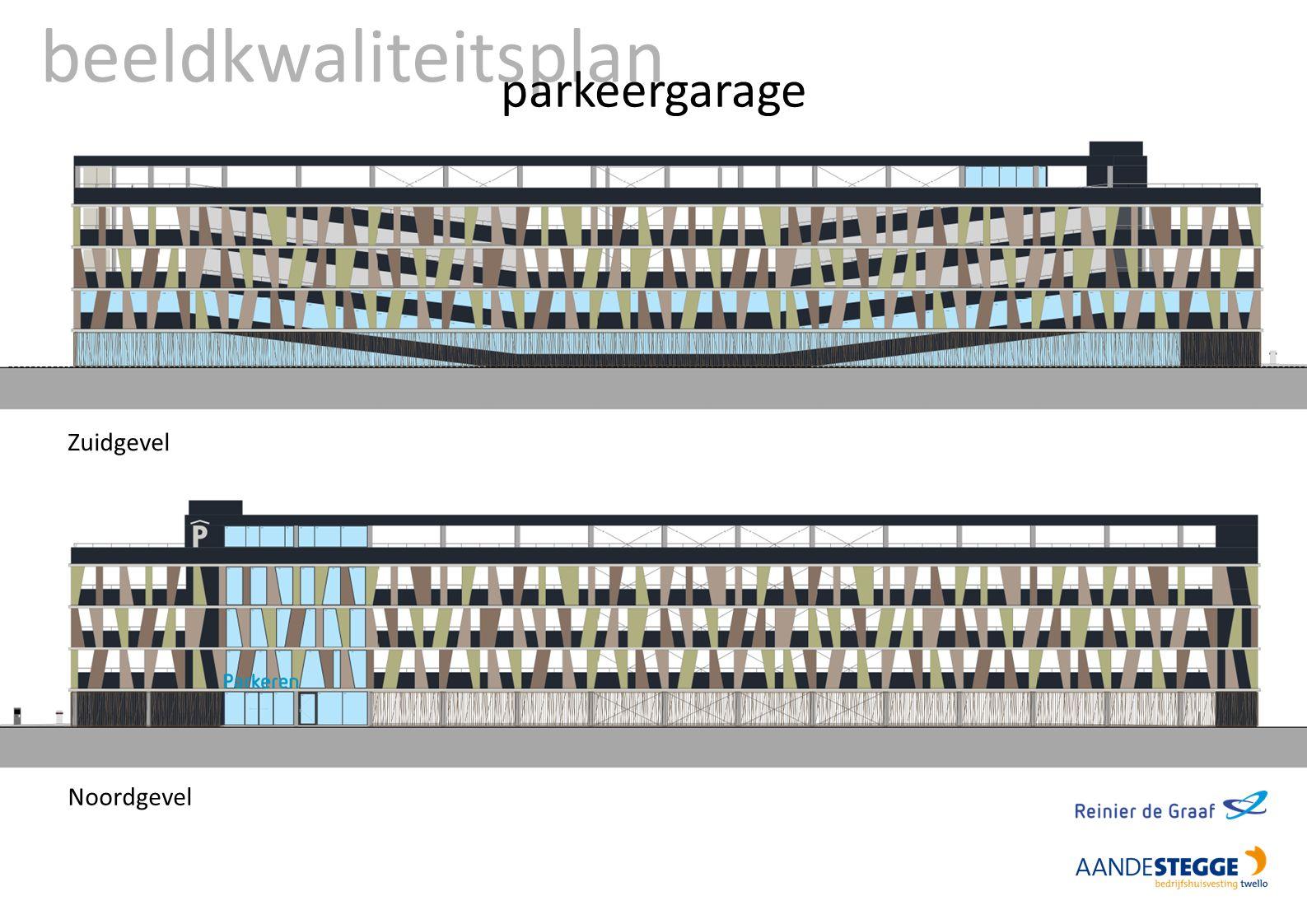 beeldkwaliteitsplan parkeergarage Zuidgevel Noordgevel