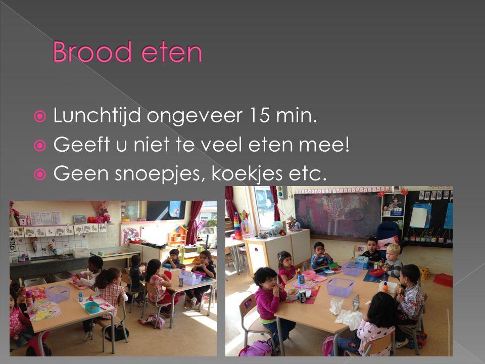  Tweemaal per week; op dinsdag en donderdag van 8.15-8.30 uur.  Samen spelen met uw kind; geeft vertrouwen en plezier voor uw kind. Kinderen prester