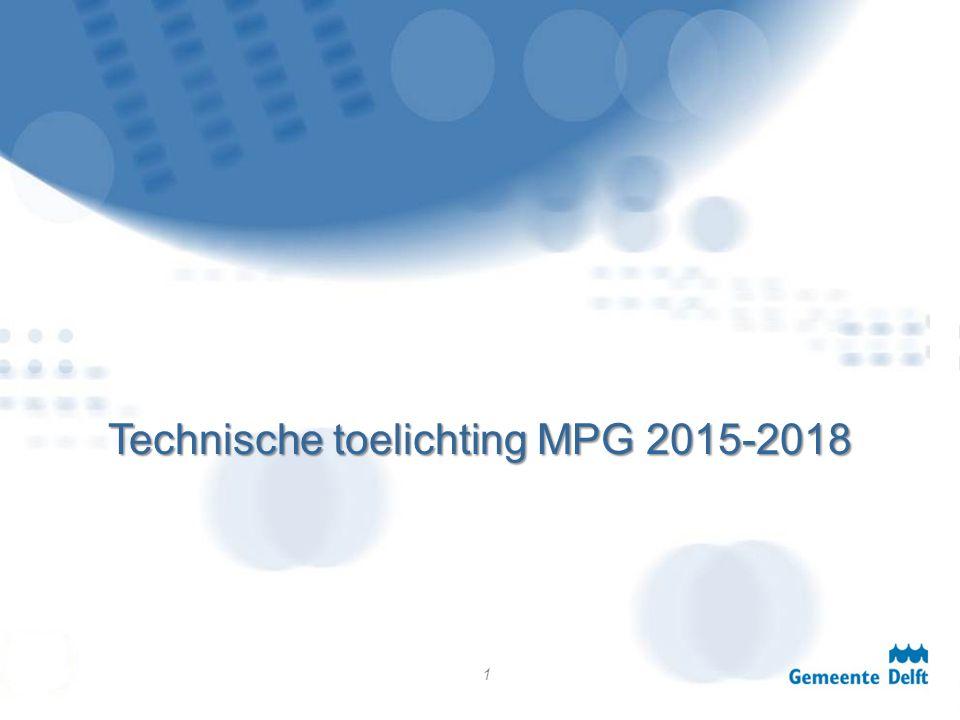 Technische toelichting MPG 2015-2018 1