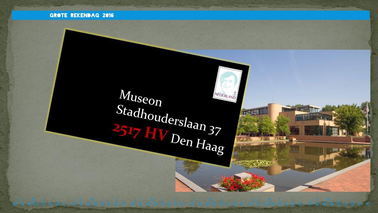 Museon Stadhouderslaan 37 2517 HV Den Haag
