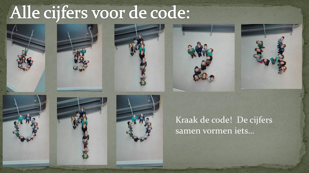 Kraak de code! De cijfers samen vormen iets…