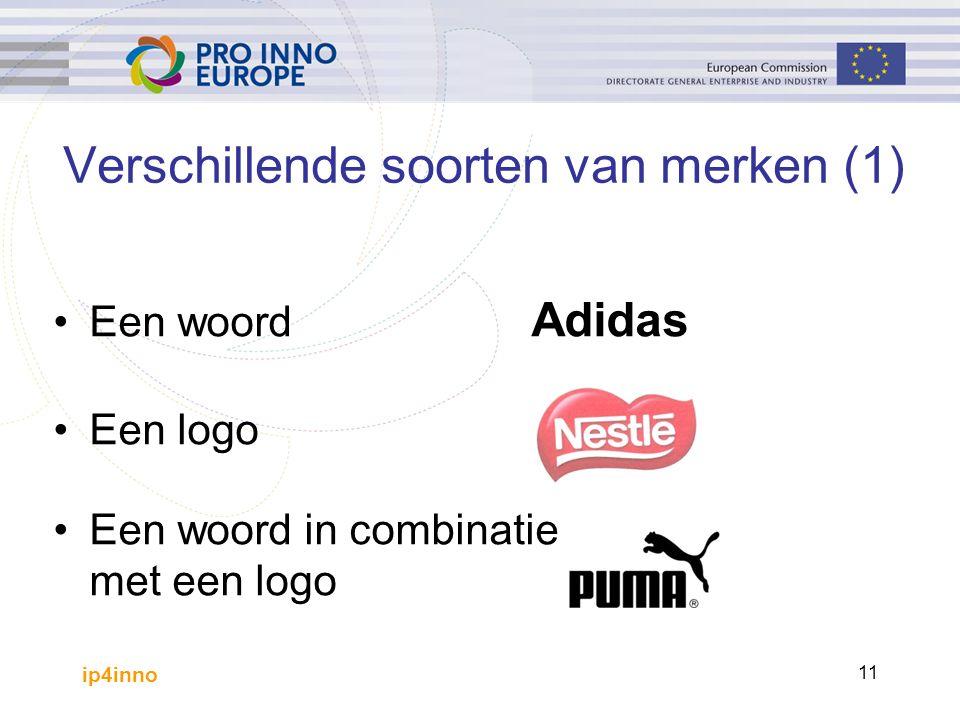 ip4inno 11 Een woord Adidas Een logo Een woord in combinatie met een logo Verschillende soorten van merken (1)