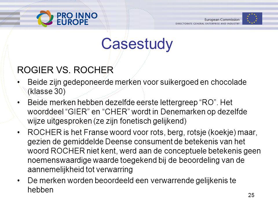 25 Casestudy ROGIER VS.