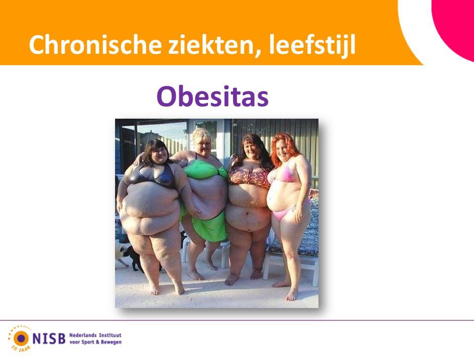Chronische ziekten, leefstijl Obesitas