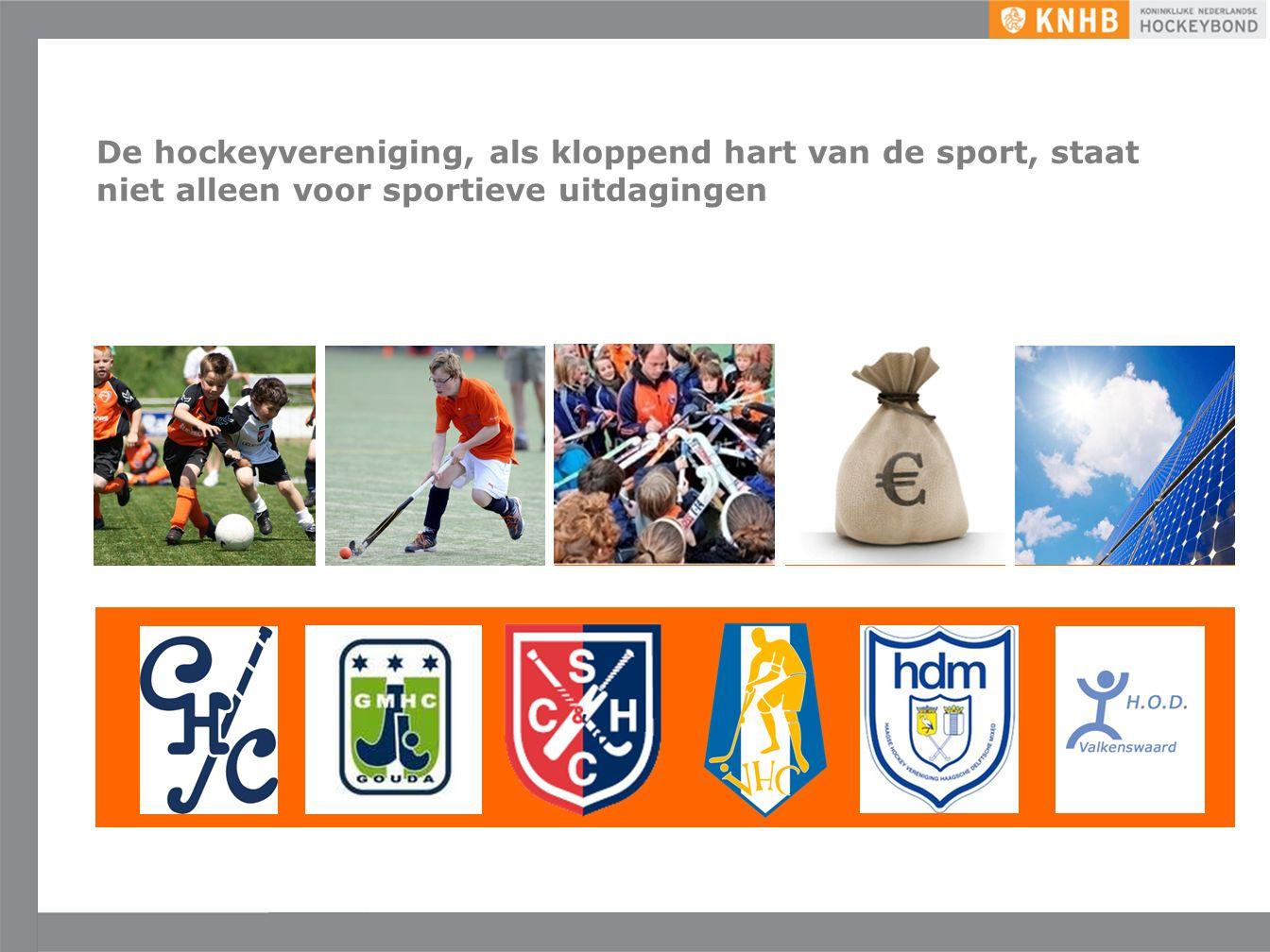 Uitgave mei '16 ©KNHB … en er is niet één antwoord of blauwdruk: dé hockeyvereniging bestaat niet meer… Verenigingen zoeken naar manieren om een eigen antwoord te geven op vragen rondom onder andere maatschappij en de veranderende consumentenbehoefte op een manier die bij hun vereniging past.