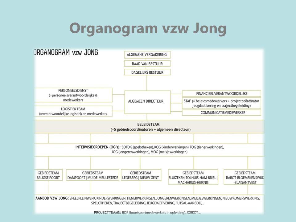 Organogram vzw Jong