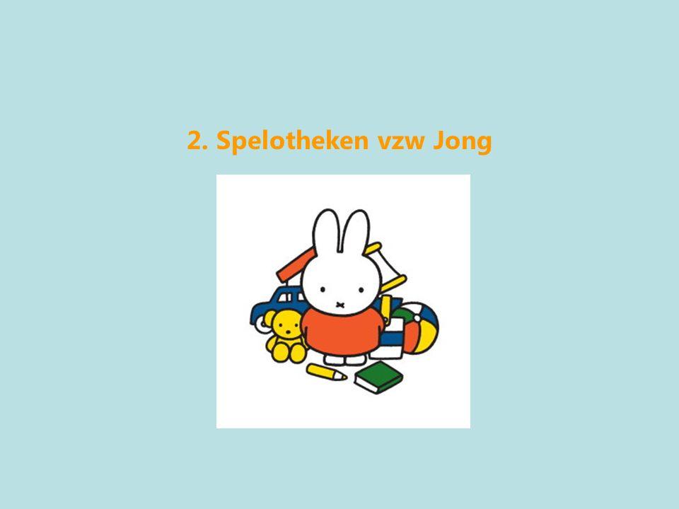 2. Spelotheken vzw Jong