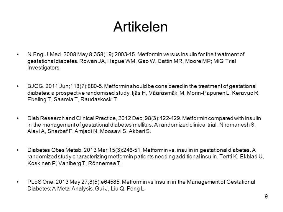 Artikelen N Engl J Med.2008 May 8;358(19):2003-15.