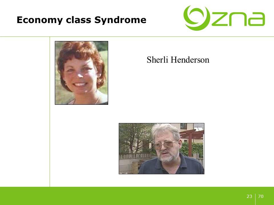 7023 Economy class Syndrome Sherli Henderson