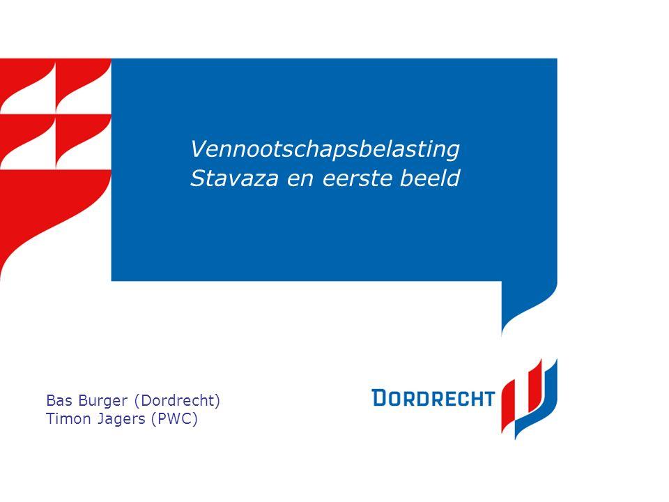Vennootschapsbelasting Stavaza en eerste beeld Bas Burger (Dordrecht) Timon Jagers (PWC)