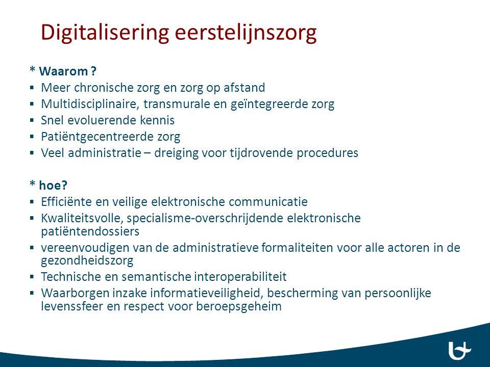 Kwaliteitsvol registreren in het EMD Wat is nodig voor mijn praktijk in de verdere opvolging en planning voor deze patiënt .
